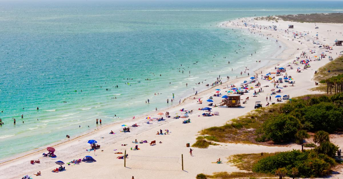 Image result for Lido Key Beach