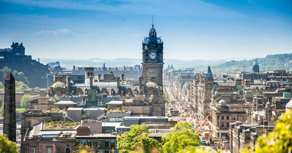 hovedstaden i skotland