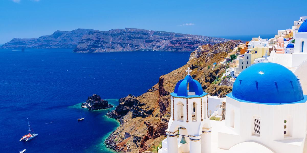 Case e Appartamenti Vacanza Santorini a partire da 32 €