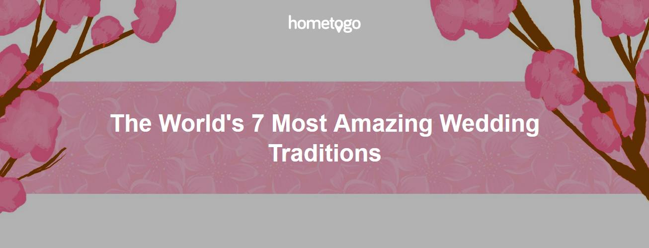 The World's 7 Most Amazing Wedding Traditions Around the World header picture