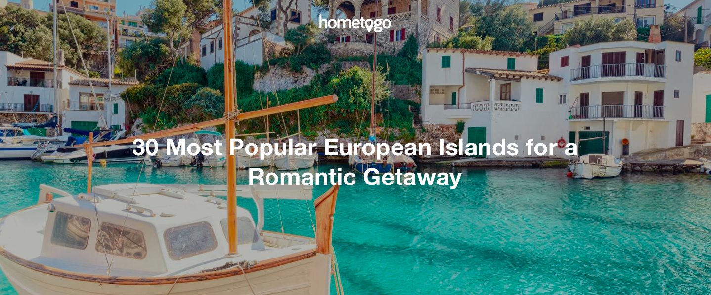 The Top 30 Most Romantic European Islands, Ranked by Price