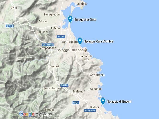 Cartina Di San Teodoro Sardegna.Spiagge Di San Teodoro In Sardegna 10 Mete Da Non Perdere Casevacanza It