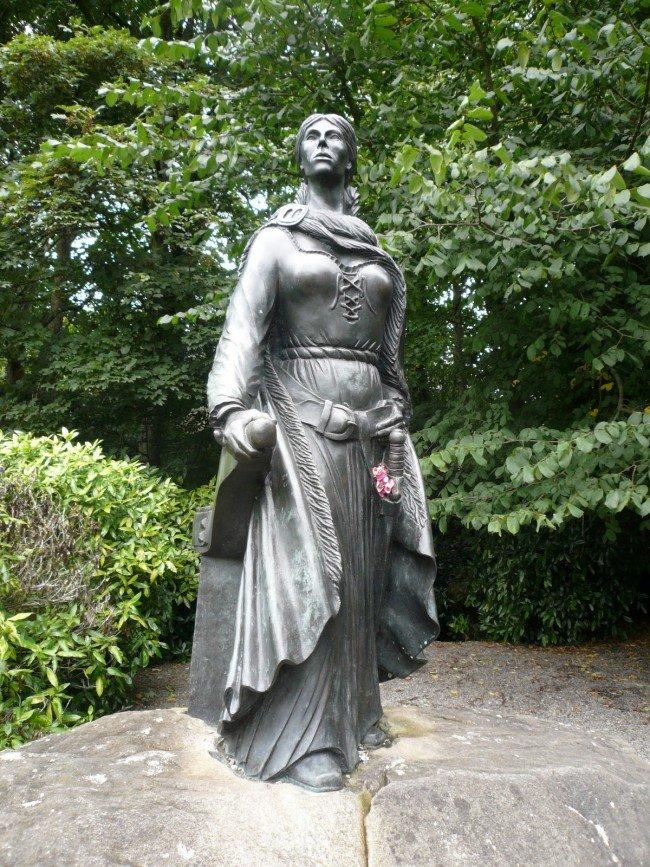 La reina pirata Grace O'Malley
