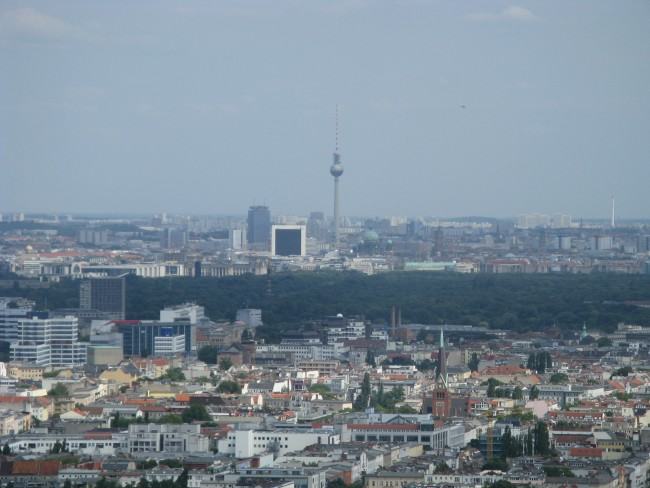 View from the Funkturm