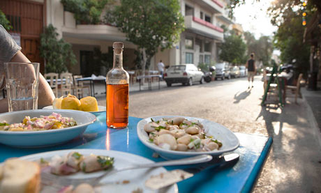 A food tour of Athens