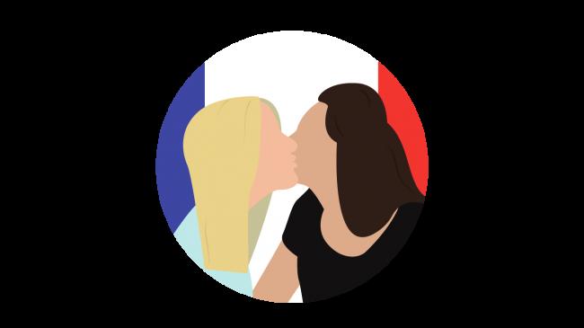 küssen zur begrüßung
