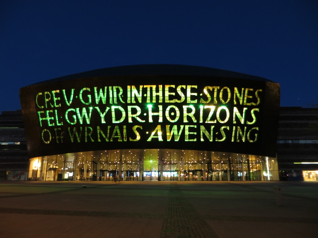 The Milennium Centre Cardiff