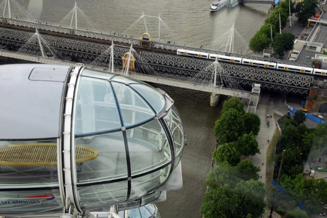 Romantische plekjes: Privatkapsel_London Eye (c) Shutterstock+