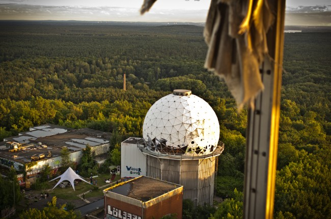 View over Teufelsberg