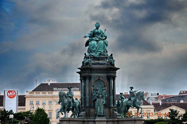 Monumento a María Teresa I de Austria en Viena