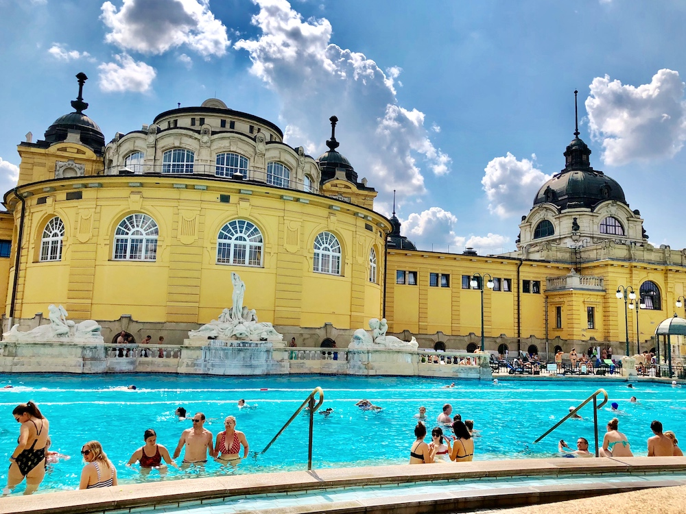 Thermalbad Széchenyi in Budapest