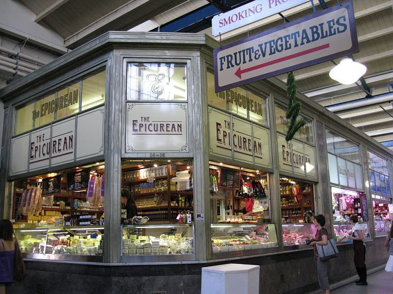 Deli at Vic Markets Melbourne
