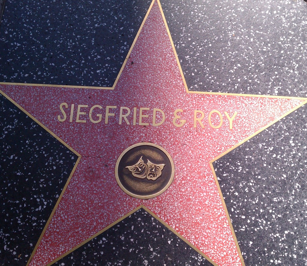 Walk of Fame, Siegfried & Roy