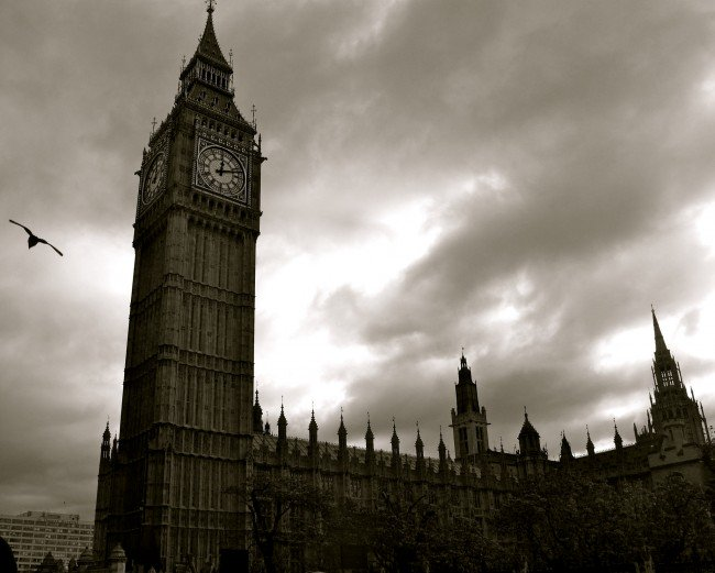 Big Ben. Photograph from 08wetterlundh via Flickr CC