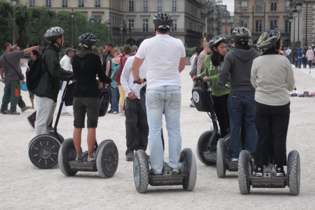 Glide through the boulevards of Paris on a Segway © Greg Dunlap