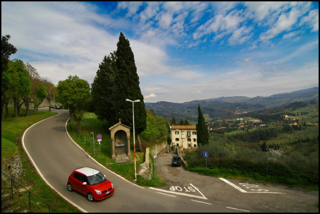 Road to Fiesole