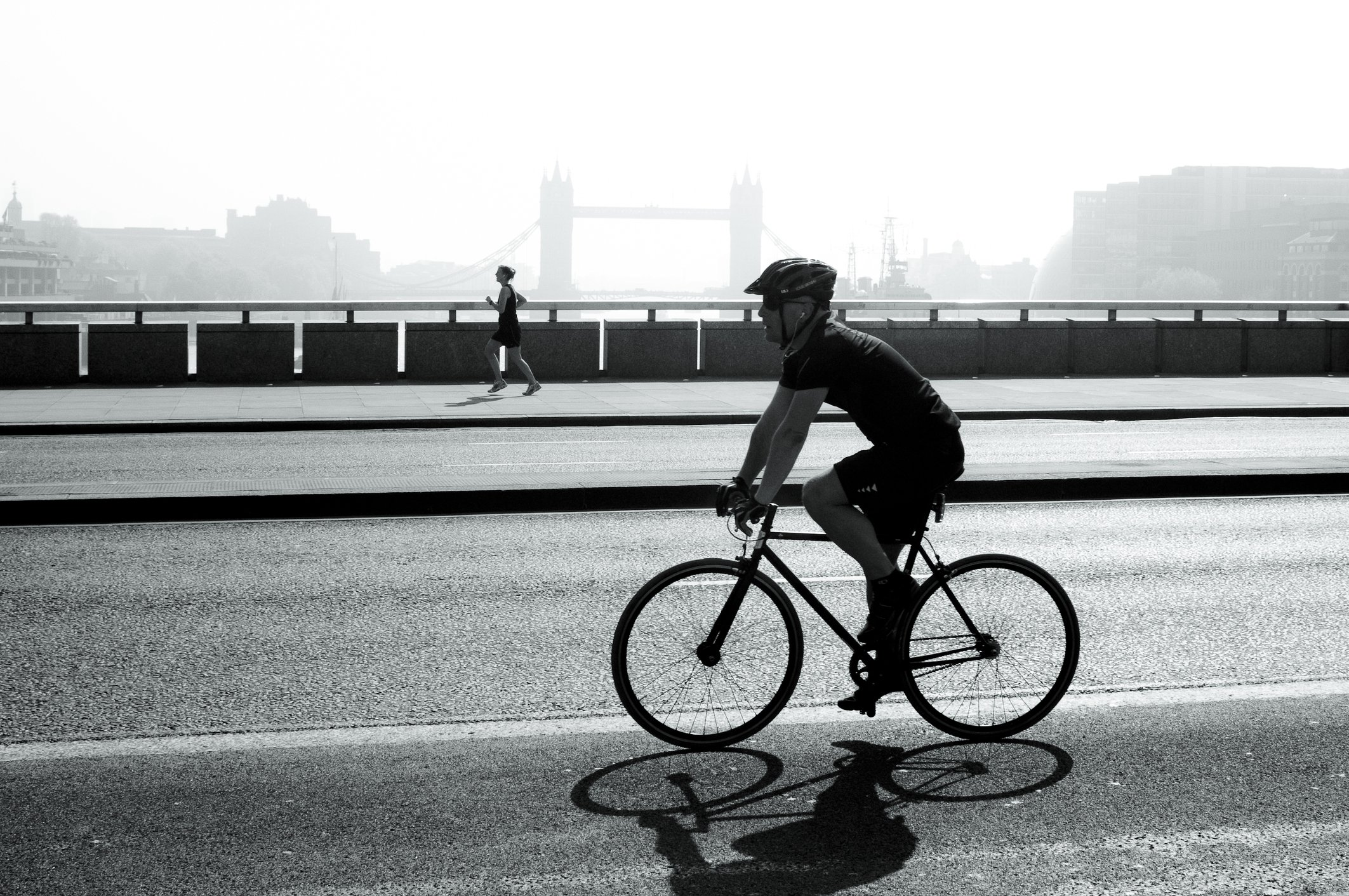 Cyclist London - transport in London
